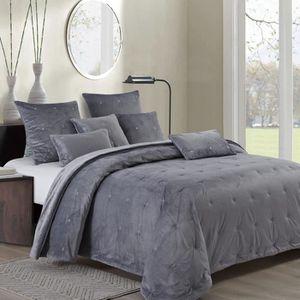 couvre lit boutis 260x280 achat vente pas cher. Black Bedroom Furniture Sets. Home Design Ideas