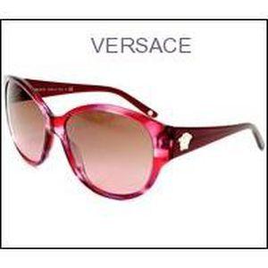 Lunettes de soleil Versace - VE4208 Rouge, Gris, Prune - Achat ... bc1b9d94929c