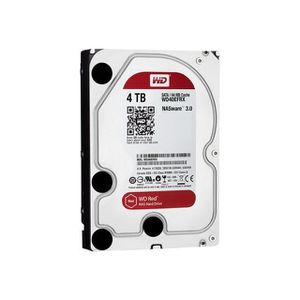 DISQUE DUR INTERNE WD Red WD40EFRX - 4 To - Disque dur interne 3.5``.