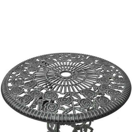 Ensembles de meubles d\'exterieur Couleur : Vert Materiau du dessus ...