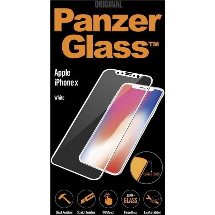 Panzer Glass Verre Trempé PREMIUM - Pour iPhone 8 - BlancFILM DE PROTECTION TELEPHONE - VERRE DE PROTECTION TELEPHONE