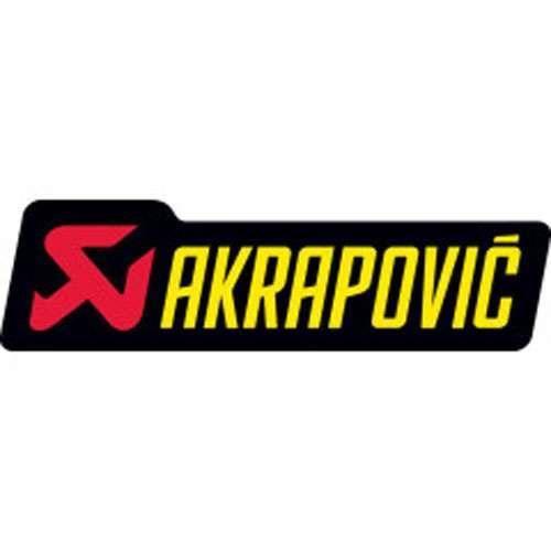 DÉCORATION VÉHICULE Autocollant Akrapovic 150X45mm