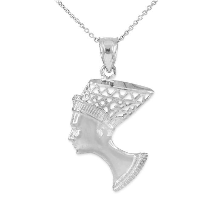 Pendentif Pendentif Argent 925/1000 reine Néfertiti filigrane