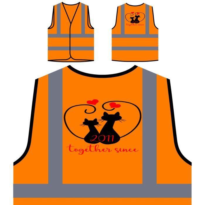 De Veste Ensemble Aimons Protection Haute À Orange Que Personnalisée Nous Depuis 2011 P Visibilité chats drrqwTPxA
