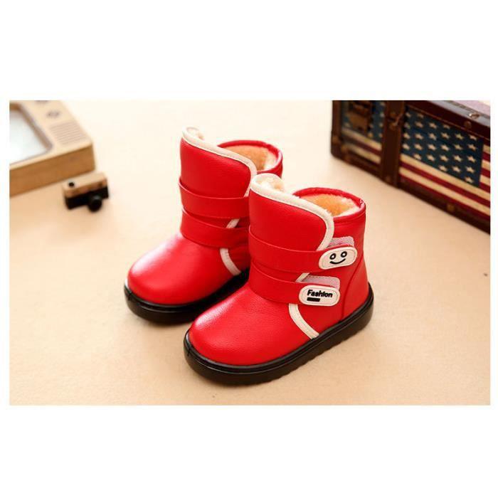 Garçons et filles bottes épaisses bottes de coton chaud IiaE5C