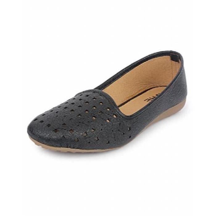 les femmes occasionnelles ont mené les chaussures de ballerine de napa y-704 MGN7H Taille-40