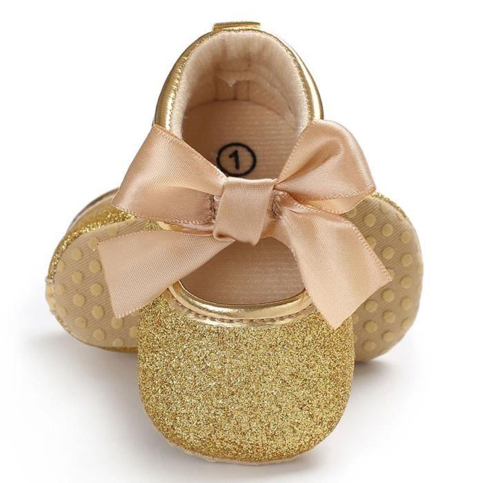 Enfant Chaussures Enfants Fille Lzp80111146gd Or Semelle n Bb Nouveau Nourrisson Douce PgUnXq
