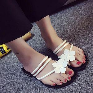 XZ754B5XZ754B5Femmes Fleur Bohême Flats Jelly Chaussures de plage Sandales Chaussons Tongs d'été 1OwpIs