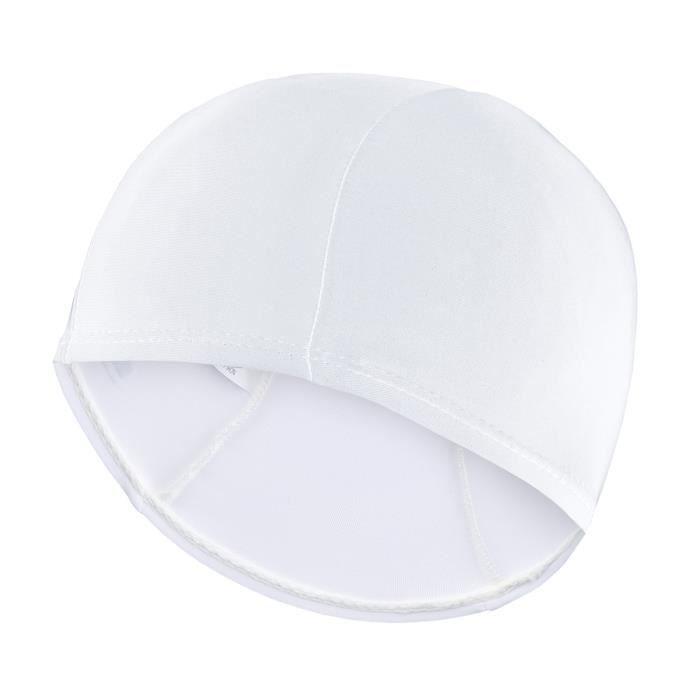BONNET PISCINE- CAGOULE SEAC Bonnet en Lycra - Adulte - Blanc