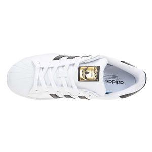 timeless design d344a cec71 ... BASKET ADIDAS Baskets Superstar - Mixte - Blanc et noir ...