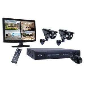 CAMÉRA DE SURVEILLANCE SMARTWARES Kit de surveillance DVR724S filaire HD