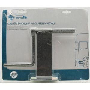 HTC Enrouleur de Sangle avec Base Magnétique