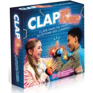 TF1 GAMES Jeu de Société - Clap The Ligths