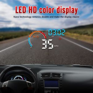AFFICHAGE PARE-BRISE D2500 4INCH Mettez en surbrillance LED couleur Aut