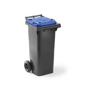 POUBELLE - CORBEILLE Conteneur à déchets en plastique conforme à la nor