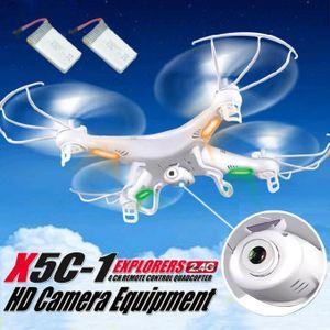 DRONE Cadeau de Noël X5C-1 2.4GHz 4CH 6 Axe RC Quadcopte