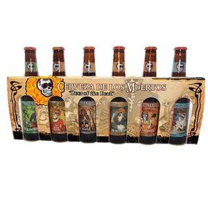 BIÈRE Coffret de 6 bières Cerveza de los muertos - 33 cl