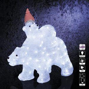 Ours lumineux exterieur achat vente ours lumineux - Decoration exterieur de noel pas cher ...