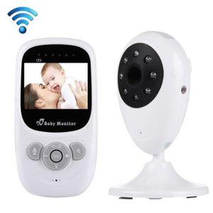 ÉCOUTE BÉBÉ Babyphone vidéo Babycam 2.4 pouces LCD 2.4GHz surv