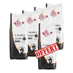 CAFÉ - CHICORÉE 4 + 1 Offert SUD OUEST CAFE L'Arabica Moulu 250g