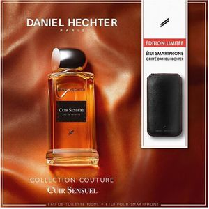COFFRET CADEAU PARFUM DANIEL HECHTER - Coffret Parfum Cuir Sensuel 100 M