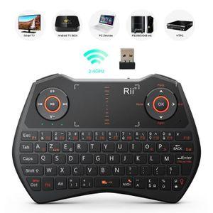 PAVÉ NUMÉRIQUE Rii Mini i28 clavier sans fil avec souris Touchpad