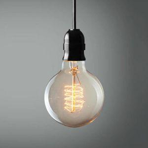 AMPOULE - LED 8 PCs Ampoule E27 filament incandescente 40W G80 A