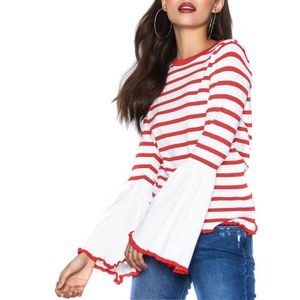 3a0f47607e67 Pull Only Laura Rouge Blanc Blanc - Achat   Vente pull - Cdiscount