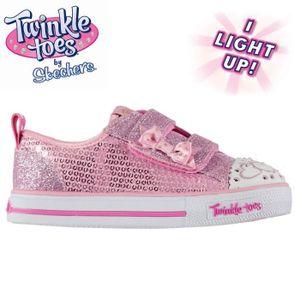 bdcedc99e16f BASKET Skechers Twinkle Toes Itsy Bitsy Baskets Basses En