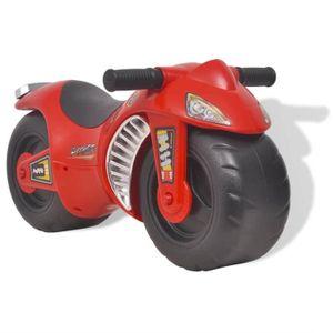 VOITURE ENFANT Moto de jouet en plastique rouge 18 mois+