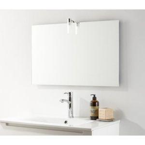 miroir salle de bain largeur 80 cm achat vente pas cher. Black Bedroom Furniture Sets. Home Design Ideas