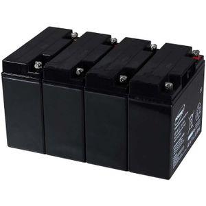 BATTERIE VÉHICULE Batterie gel-plomb Powery pour USV APC Smart-UPS 2