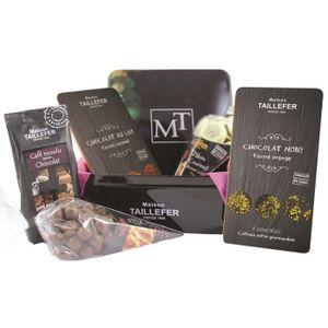 COFFRET CADEAU ÉPICERIE MAISON TAILLEFER Coffret Métal Chocolat Ferme