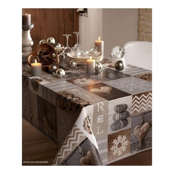 toile cire ovale sur mesure latest nappe toile cire. Black Bedroom Furniture Sets. Home Design Ideas