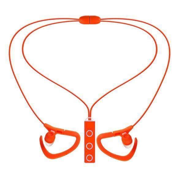 Caldecott Bt-51 Écouteurs Bluetooth Sport Sans Fil Casque Avec Micro Stéréo Pour Mobile Téléphone