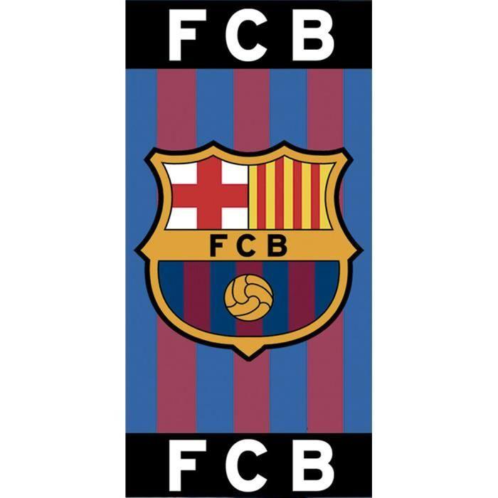 db79e049fd0bed Serviette de bain Drap de plage coton Fc barcelone Barça Messi Suarez PSG