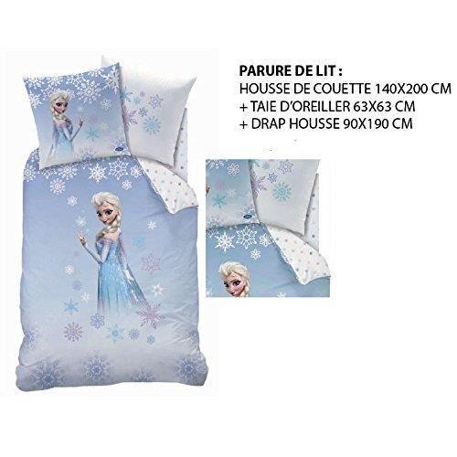 Frozen Parure De Lit 3pcs Hc140 To Dh90 Cm Achat Vente