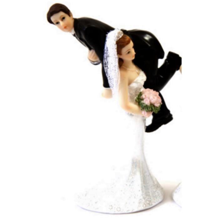 1 Couple De Mariés Résine Humoristique N1 Décoration De Mariage