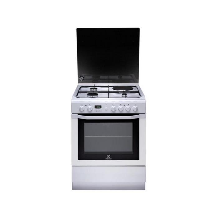 Gaziniere Mixte Avec Four Electrique Achat Vente Gaziniere - Cuisiniere mixte 2 gaz 2 electrique pour idees de deco de cuisine