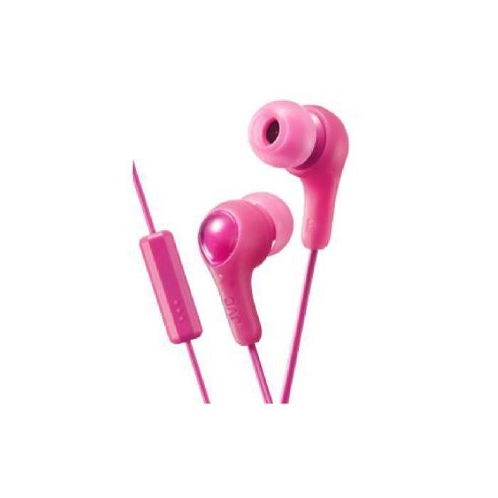 Ha-fx7m-p-e Ecouteurs Roses Intra-auriculaires Avec Telecommande/microphone - Gumy Plus