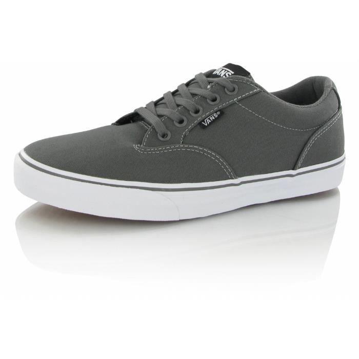 Gris Winston Chaussures Vente Achat Vans Canvas Basket H4vFtq for ... d0396d33d4