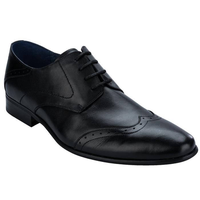Chaussures Pinto derby en cuir pour homme