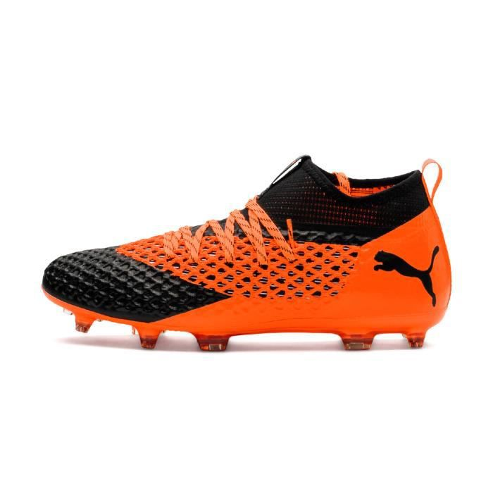 Orange Et Noir Football 2 Puma Future 2 Ag Netfit Fg Chaussures Uw8Oqz