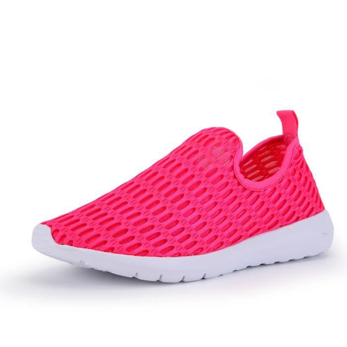 Casual Respirant Baskets Sneakers Chaussures De Sport Femme 5Bnq8wgf