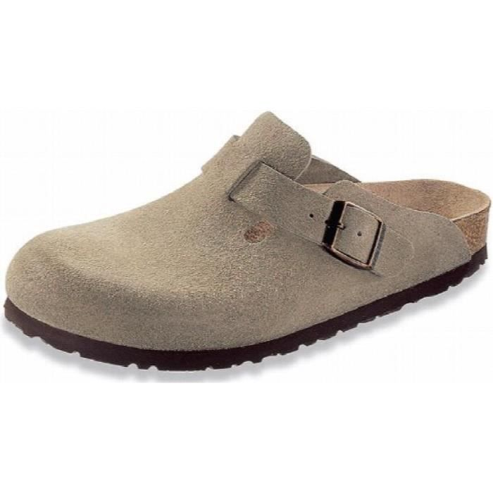 Clog Taille 38 Arch Boston taupe V2heo Women's Suede Classic N Eu m qtvWRcS