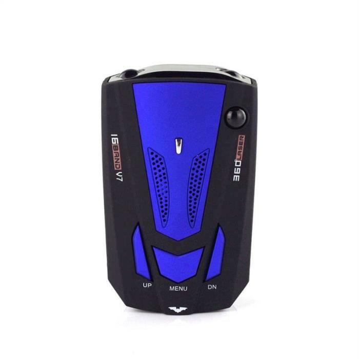 Avertisseur de Radar de Conduite(Bleu)