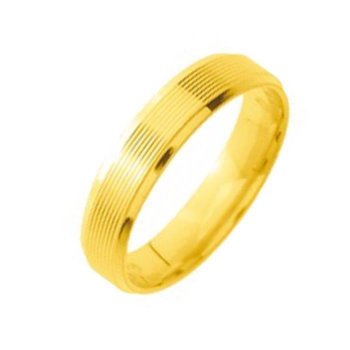 bague or jaune pour homme