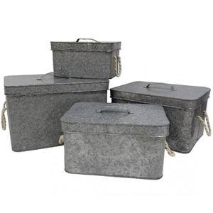 boite rangement metal