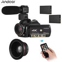 CAMÉSCOPE NUMÉRIQUE Andoer 4K UHD Caméra vidéo numérique DV Recorder 3