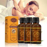 HUILE - LAIT MASSAGE 3pcs huiles essentielles pures naturelles végétale